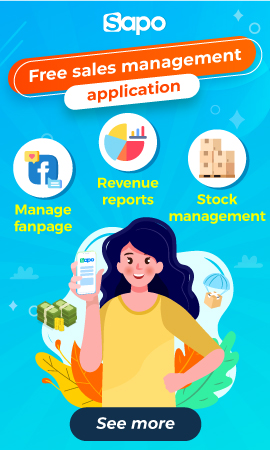 Free sales management application for stores and online stores