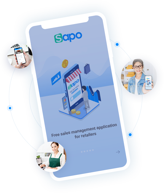 What is SAPO sales management application?