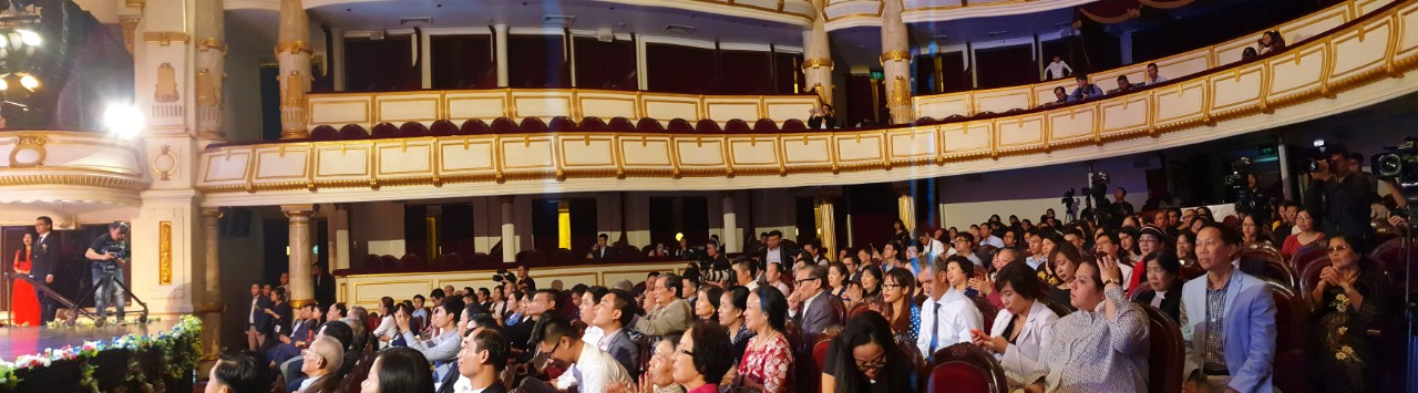 The Award Ceremony was held in Hanoi Opera House and was broadcasted live on VTV2